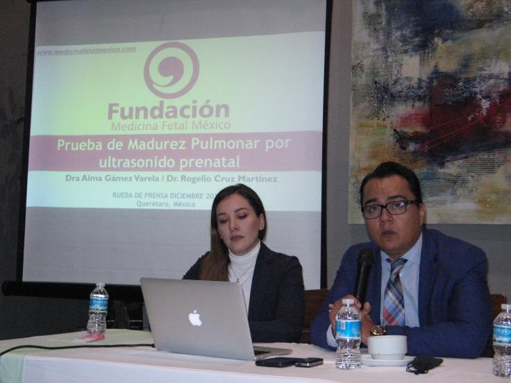 Doctora Alma Gámez Varela y doctor Rogelio Cruz Martínez 2